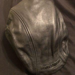 Leather Harley Davidson hat